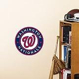 MLB Washington Nationals Fathead Logo Decal, Blue