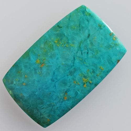 Chrysocolla,Natural Chrysocolla,Gemstone,Cabochon,Semi precious,Cabochons,Jewellery Making,Top Quality,Cabs 19X14X9MM 23.00 Carat