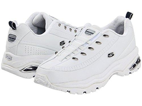 Skechers Sport Vrouwen Premium-premix Slip-on Sneaker Premium - Premix Wit / Navy