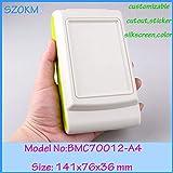Gimax 8 pcs/lot abs plastic enclosures for remote control enclosures abs material handheld control shell 141x76x36mm