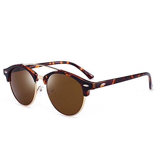 rond Verres colorés Cadre soleil lunettes F polarized Mens de YwxBZp0