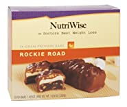 NutriWise - Rockie Road Diet Protein Bars (7 bars)