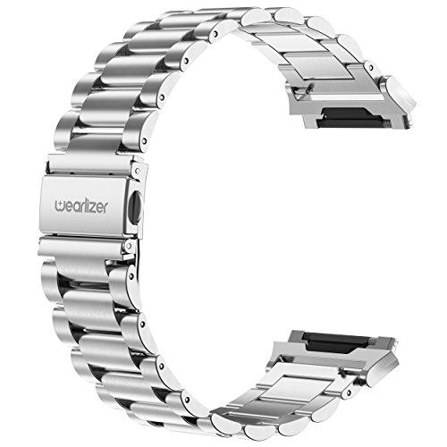Malla de acero inoxidable para Fitbit Ionic