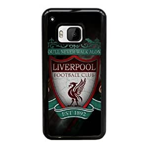 HTC One M9 Cell Phone Case Black Liverpool Logo AS7YD3606435