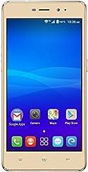"""Haier L55s Smartphone libre Android (4G, 5"""", cámara de 13 MP, 2 GB de RAM, memoria interna de 16 GB ), color oro"""
