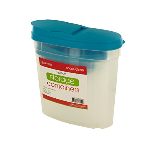 Pourable Food Storage Container Set - Pack of ()