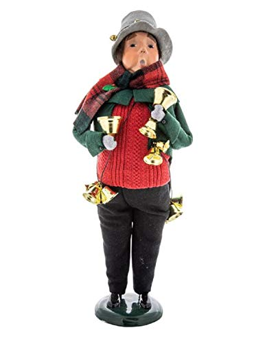 Bell Victorian Christmas - Victorian Trading Co. Byers' Choice Christmas Bell Ringer Man Doll New