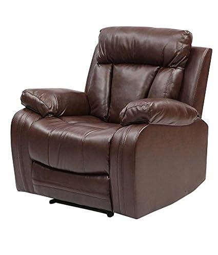 Superb Tychi Motorized Automatic Recliner Chair Dark Brown Spiritservingveterans Wood Chair Design Ideas Spiritservingveteransorg