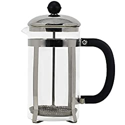 21 Oz. French Press Coffee Maker with Stainless Steel Plunger, Lid, and Frame 100% BPA Free Heat Resistant Borosilicate Glass Kitchen Thermal Brewer Steep Coffee, Tea and Make Essential Oils