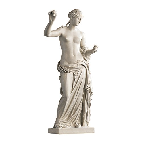 Roman Statues Greek And (Design Toscano Venus of Arles Greek Goddess Statue, Gallery, 23 Inch, Polyresin, Antique Stone)