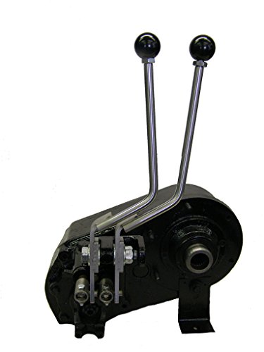 JB Custom Fabrication D300J Stainless Steel Twin-Stick Shifter For Jeep D300 Transfer - Transfer Case D300