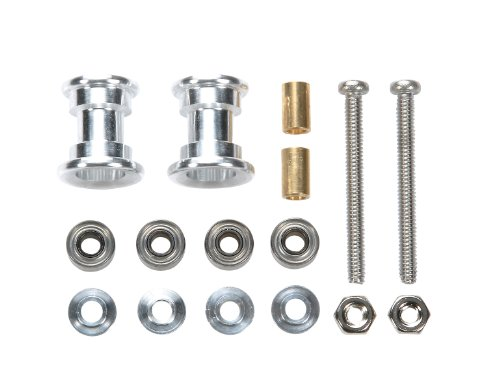 Tamiya Mini four wheel drive limited series lightweight two-stage aluminum roller set (9-8mm) 94966
