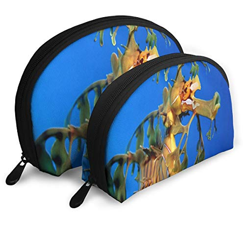 Makeup Bag Amazing Seahorse Portable Shell Storage Bag For Girlfriend Travel Pack - 2