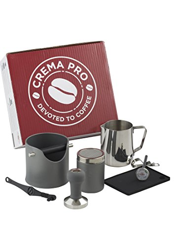 CREMA PRO Barista Kit - Make The Perfect Coffee or Espresso - Coffee Accessories - Easy & Quick Clean Up