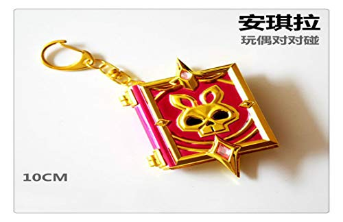 YshengHu Accessories Anime Cosplay Costume Keyring Pendant Metal Necklace Game Model Keychains YshengHu-605 ()