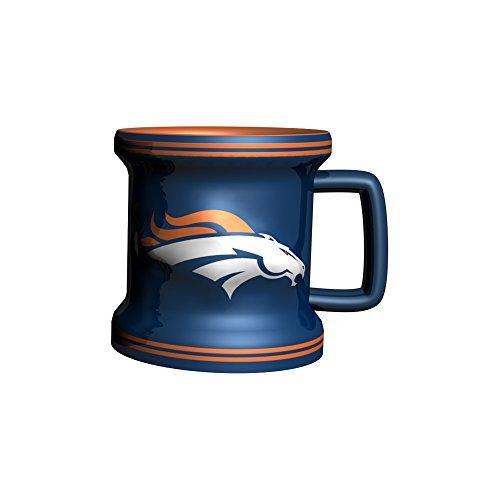 NFL Denver Broncos Sculpted Mini Mug, 2-ounce