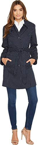 london-fog-womens-dot-trench-coat-navy-outerwear