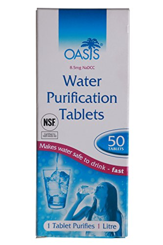 Mountain Warehouse Oasis Water Purification Tablets - Water Purifier One