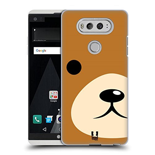 Head Case Designs Teddy Full Face Animal Portraits Hard Back Case for LG V20 (Teddy Portrait)