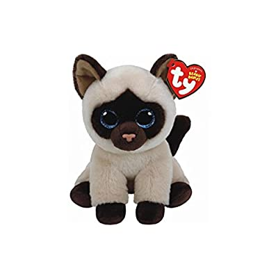 "Holland Plastics Original Brand TY Beanie Babies 6"" Jaden The Siamese Cat, Perfect Plush!: Toys & Games"