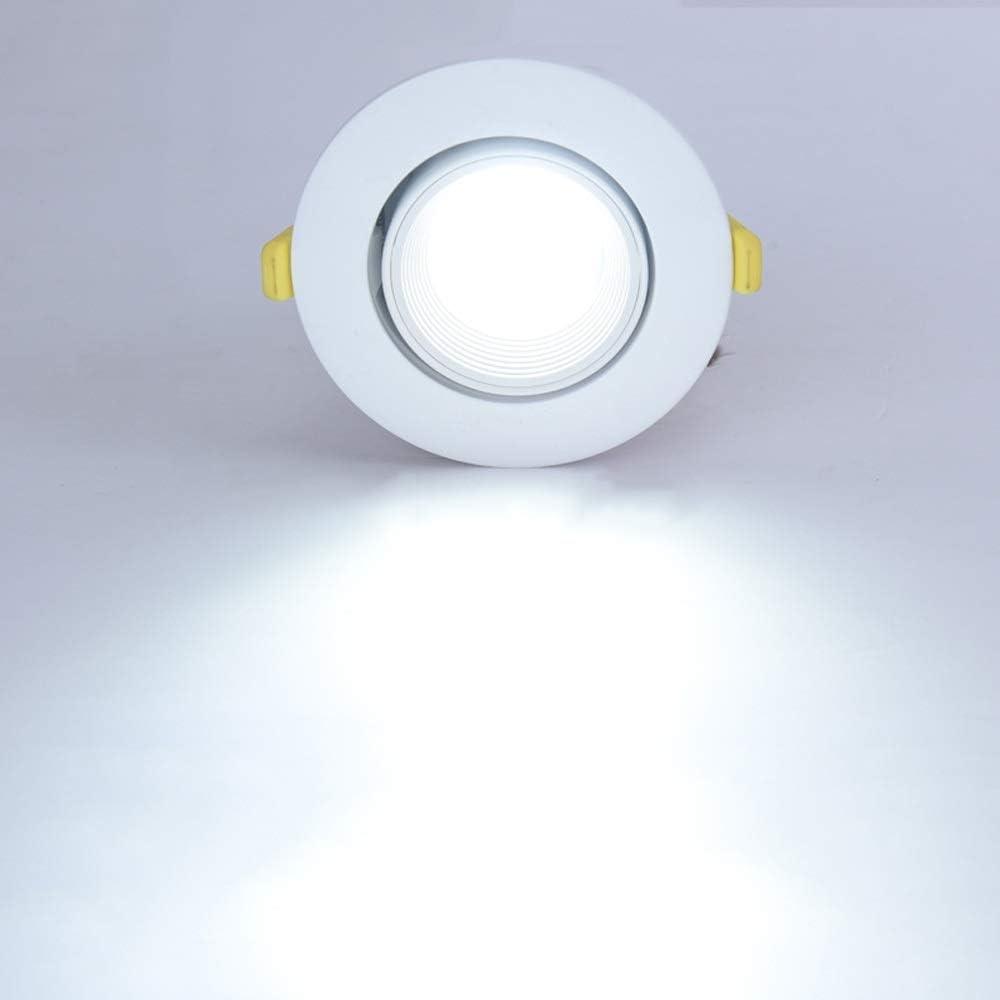 Lámpara empotrada de techo empotrada LED Fuente de luz ...