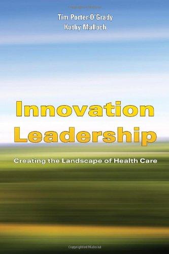 Innovation Leadership  Creating The Landscape Of Healthcare  Porter Ogrady  Innovation Leadership