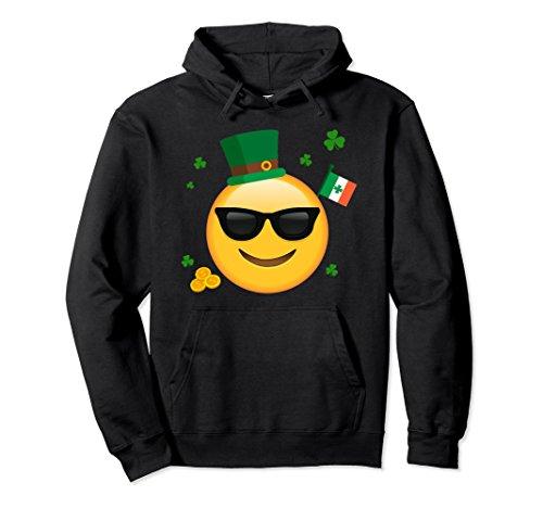 Unisex Sunglasses Emoticon Face Hoodie Irish Flag Leprechaun Hat 2XL - Sunglasses Culture Love