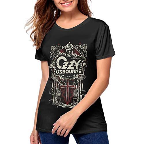 Ozzy Osbourne Trunk LTD Classic Logo Pink Thermal Girls Kids Shirt New