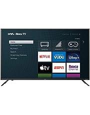 onn Smart TV 50 Pulgadas 4k Roku Integrado 3840 x 2160 Pixeles Negro