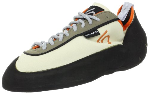 Five Ten Men's Anasazi Climbing Shoe - Blanco/Orange - 12...