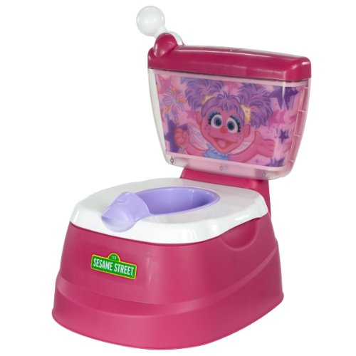 Sesame Street Abby Cadabby Magical Potty Chair, Fuchia