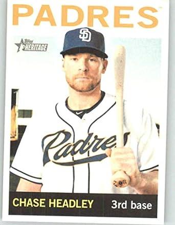 Baseball Trading Cards sports memorabilia Chase Headley Topps Living Set Card #24 SAN DIEGO PADRES