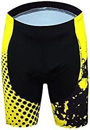 Men's Cycling Clothing Yellow Shirts Aogda Cycling Jerseys Breathable Short Sleeves Cycling Bib Shorts Cic