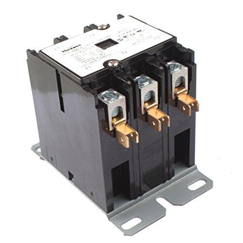 Purpose Contactor Standard 3 Pole (Holdwell 42CF35AJ 3 Pole 40 Amp 24V Coil Definite Purpose Contactor)