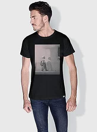 Creo Kid Skulls T-Shirts For Men - Xl, Black