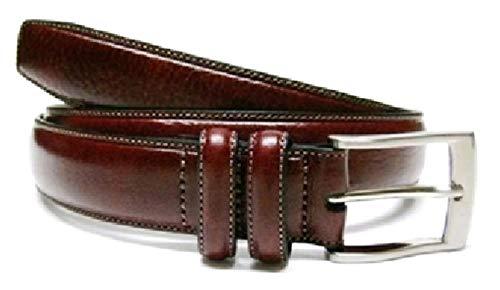 (Liz Claiborne's Apt 9 Men's Genuine Leather Dress Belt Fashion (30,)