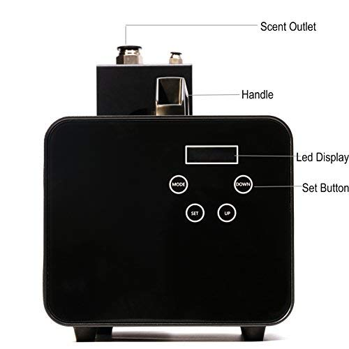 Kevinleo Scent Air Machine Portable 16,200-21,500 Square Feet, Waterless 100% Pure Essential Oil, Excellent Timer Panel from Monday to Sunday. can Hook to Air Conditioners,500ml Cartridge by Kevinleo (Image #8)