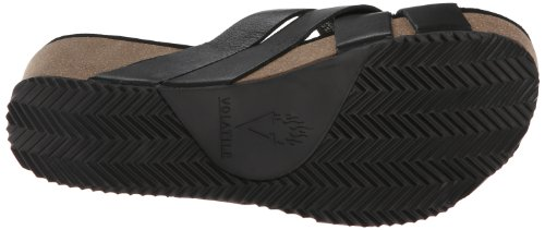 Volatile Women's Mayfield Wedge Sandal Black free shipping eastbay MuFPPsgu