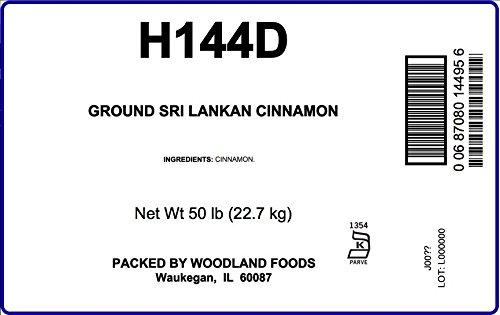 Sri Lanka (Ceylon) Cinnamon, 50 Lb Bag