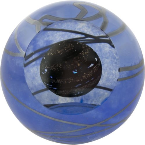 Planet Paperweight - Glass Eye Studio Planet 9 Solar System Celestial Paperweight
