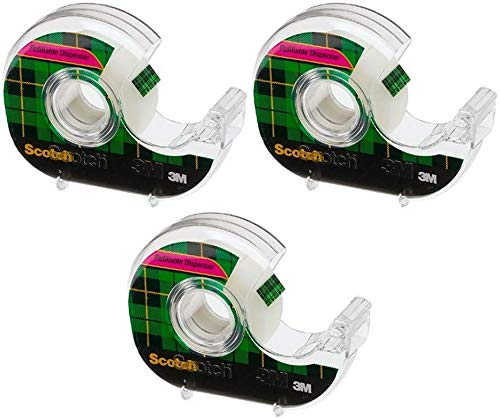 Scotch Magic Tape, 6-Count Packages (Pack of 2) Pack of 3 by Scotch Brand