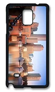 Adorable boston skyline Hard Case Protective Shell Cell Phone Samsung Galaxy Note4
