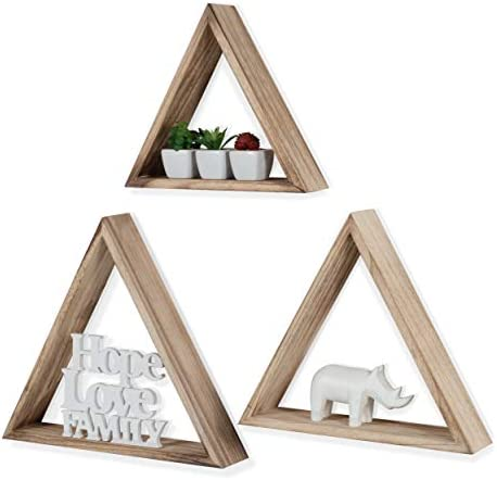 Rustic State Triangle Geometric Distressed product image