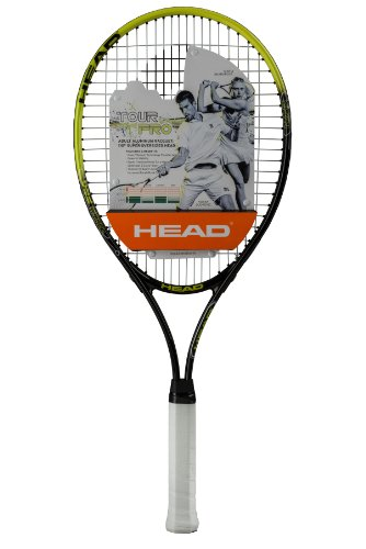 HEAD Tour Pro Prestrung Tennis Racquet, Grip Size 4-3/8