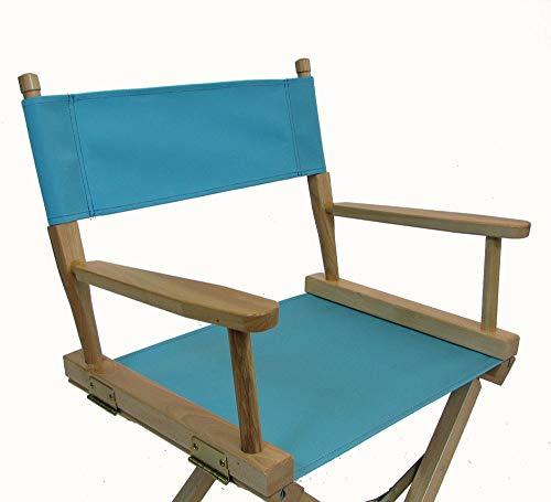 Sunbrella Directors Chair Replacement Cover (Flat Stick) (Aruba) -