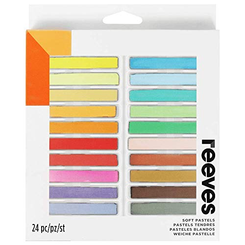 Reeves Soft Pastels-Set of 24