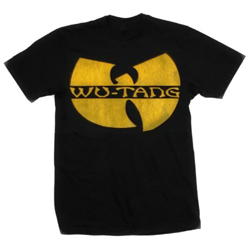 Bravado Men's Wu-Tang Clan Distressed Logo T-Shirt