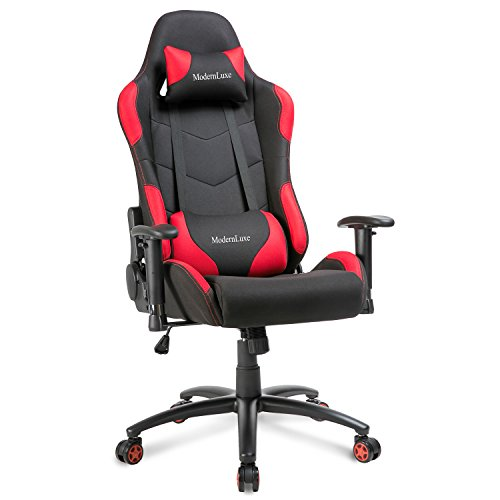 414VirdVGvL - Modern-Luxe-Reclining-Fabric-Racing-Office-Chair-Computer-Gaming-Chair-Red