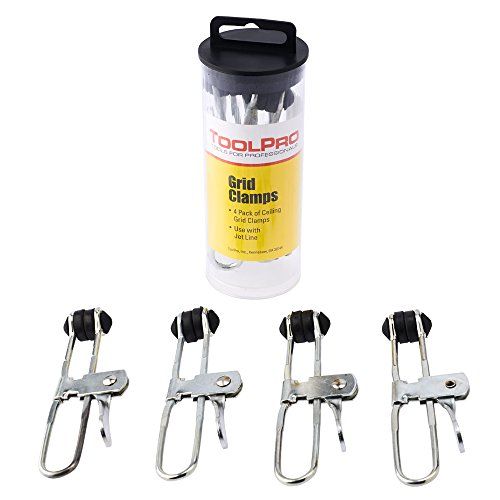 ToolPro Lever Action Grid Clamps - 4 pack