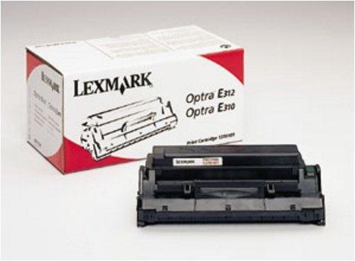 13T0101 Genuine Lexmark High-Yield Toner Cartridge, 17250 Page-Yield, Black